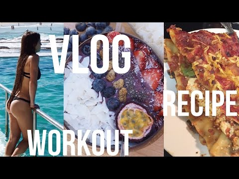 VLOG | Cardio Workout + What I Ate Today + Vegan Lasagna Recipe