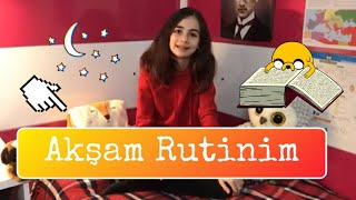 OKUL SONRASI AKŞAM RUTİNİM | 2018 - My Night Routine After School