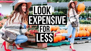 How To Make Affordable Clothes Look EXPENSIVE - Under $30!