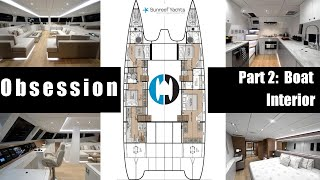 "Walkthrough of a Sunreef 74 Catamaran for Sale in Tortola ""Obsession"" Part 2 Boat Interior"