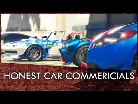GTA Online Honest Car Commercials: Old Cars, New Liveries