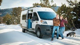 How To Survive Winter Van Life | 6 Tips