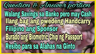 Question and Answer portion for Travel Guide # 236