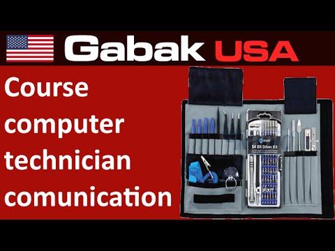 Course computer technician - communication skills - YouTube