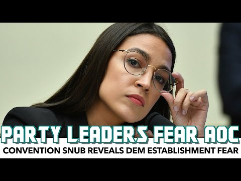 Democratic Leadership Basically Admit They Fear AOC-Wing
