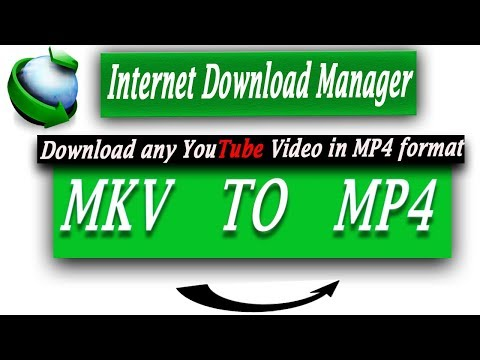 Download videos in MP4 format from youtube in idm 2018. [Urdu/Hindi]