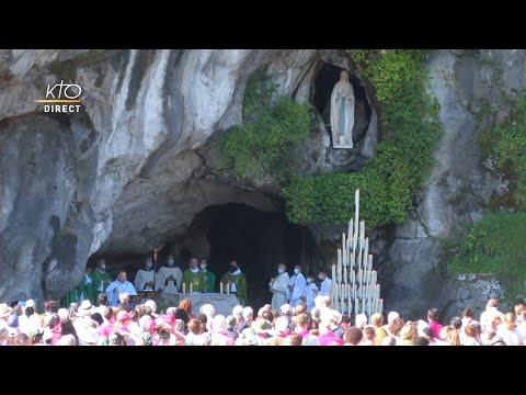 Messe de 10h à Lourdes du 18 juillet 2021