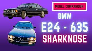 BMW 635csi Comparison (E24 Shark Week)