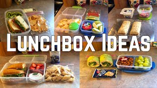 WHAT'S IN MY HUSBANDS LUNCHBOX?| LUNCH IDEAS FOR ANYONE