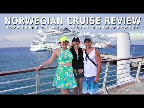 Norwegian Getaway Cruise Review & Disembarkment (NCL)
