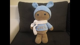 Maskotka Na Szydełku 10k Part 3 - Crochet Bear Amigurumi With Scheme