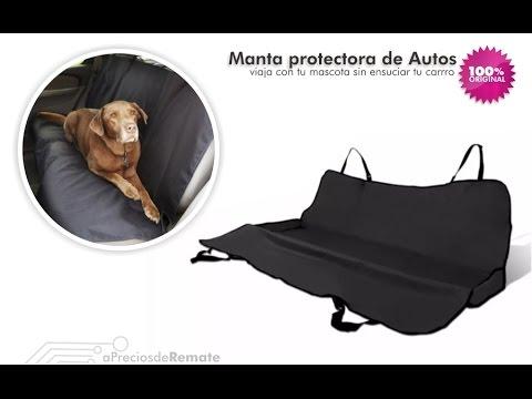 Tapete para Carro, Manta Protectora de auto para mascotas - aPreciosdeRemate
