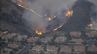 California wild fire update (USA) - BBC News - 11th November 2018