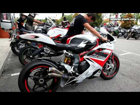 MV Agusta F4 RR with Zard V2 Exhaust High Revv Extraordinary Sound!