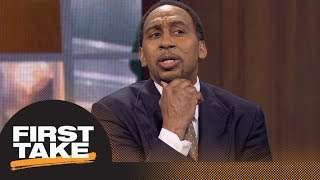Stephen A. Smith: Odell Beckham Jr. shouldn't be paid more than Antonio Brown | First Take | ESPN