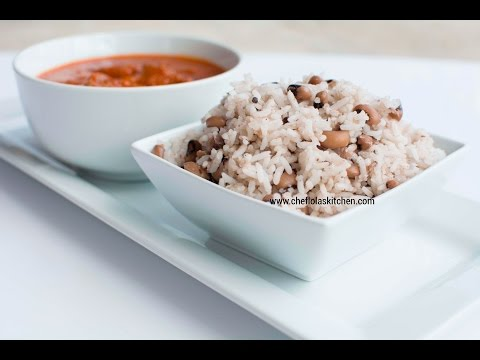 Rice Recipes: How To Make Nigerian Rice and Beans Recipe | Afropotluck