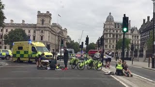 Westminster Crash Victims Helped by Emergency Services