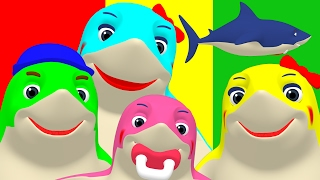 02:15 Finger Family Sharks Reggae | Animal Nursery Rhyme, Song For Babies U0026  Toddlers