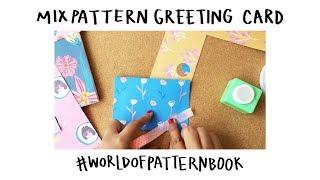 DIY Bday Card & Mismatched Envelope | Dinda Puspitasaris World Of Pattern