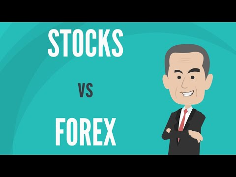 What Is the Overall Difference Between Trading Stocks and  Forex?