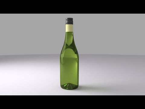 Maya 2014 Tutorial.. how to model a wine bottle.. Beginners At 2017