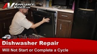 Maytag Dishwasher Repair - Will Not Start or Complete a Cycle - MDB6769PAB0