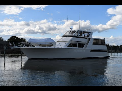 Viking 54 Sports Yacht video