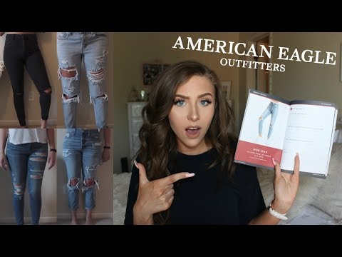 American Eagle Denim Fits & Try-On | Back to School Jean Guide