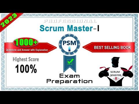 PSM-I | Professional Scrum Master - I - Exam Preparation | 2021 ...