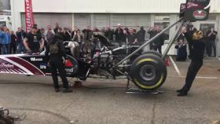 TopFuel dragster warm up event - Erbacher Racing 2017