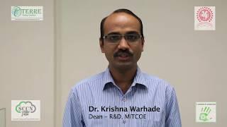 Dr. Krishna Warhade, Dean R&D, MIT College of Engineering