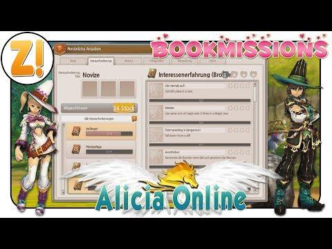 Alicia Online: Interessante Erfahrung - Zauberhafte Outfits | BOOKMISSION [DEUTSCH]