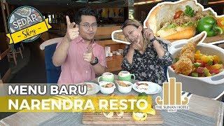 SEDAP SKOY - Menikmati Menu Terbaru & Terlezat Narendra Resto, Hotel Sunan Solo