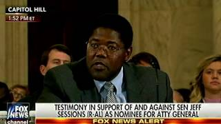 William Smith Crushes Cory Booker & the Congressional Black Caucus at Jeff Sessions Confirmation | Kholo.pk