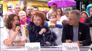 Tina Arena - Interview Village Départ (Tour De France 2015)