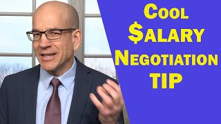 Clever Negotiation TIP When The Offer IS Less Than You Want