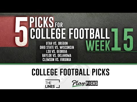 College Football Picks Week 15 | CFB Free Picks & Odds | Ohio State vs Wisconsin, LSU vs Georgia