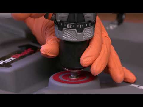 How to Setup Drill for RIDGID FlexShaft Drain Cleaning Machines