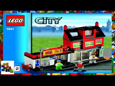 Lego Instructions City Traffic 7639 Camper