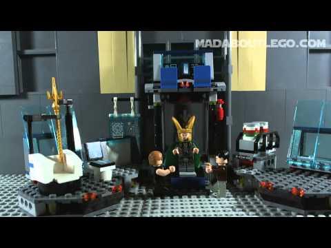 Vidéo LEGO Marvel Super Heroes 6868 : L'évasion en héliporteur de Hulk