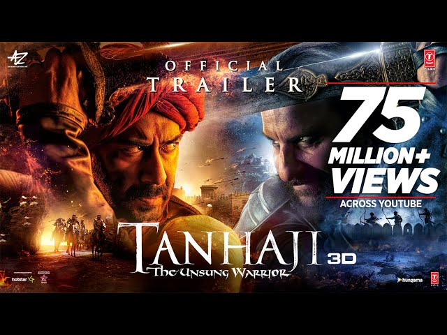 'Tanhaji: The Unsung Warrior' trailer out - Ajay Devgn leads a 'surgical strike' on the Mughals