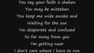 Maroon 5   Misery (Lyrics)