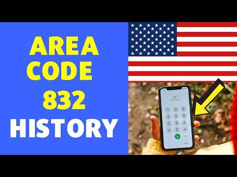 832 Area Code History | USA Location Area code 832 History