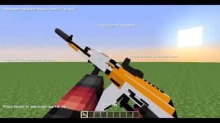 Обзор Мода На Майнкрафт 1 7 10 оружие