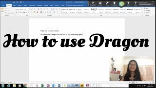 How to use Dragon Dictation (PC)