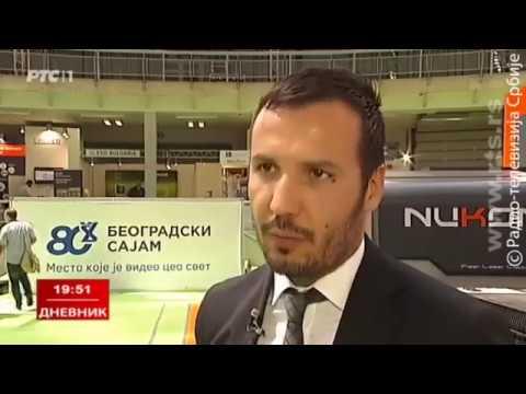 Nukon Bulgaria on National Serbian Television – Sajam Tehnike 2017