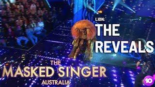 The Lion Is Revealed | Season 1 Ep 7 | The Masked Singer Australia