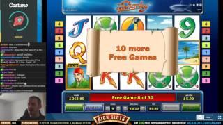 BIG WIN on Sharky Slot - £0.90 Bet