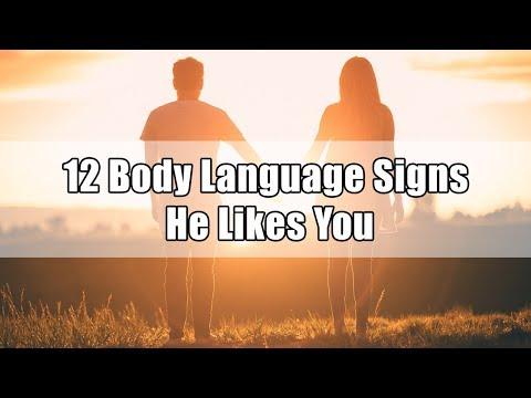 Video 12 Body Language Signs He Likes You Berita Viral - TERATAS
