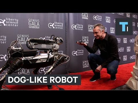 Watch Boston Dynamics' dog-like robot do party tricks